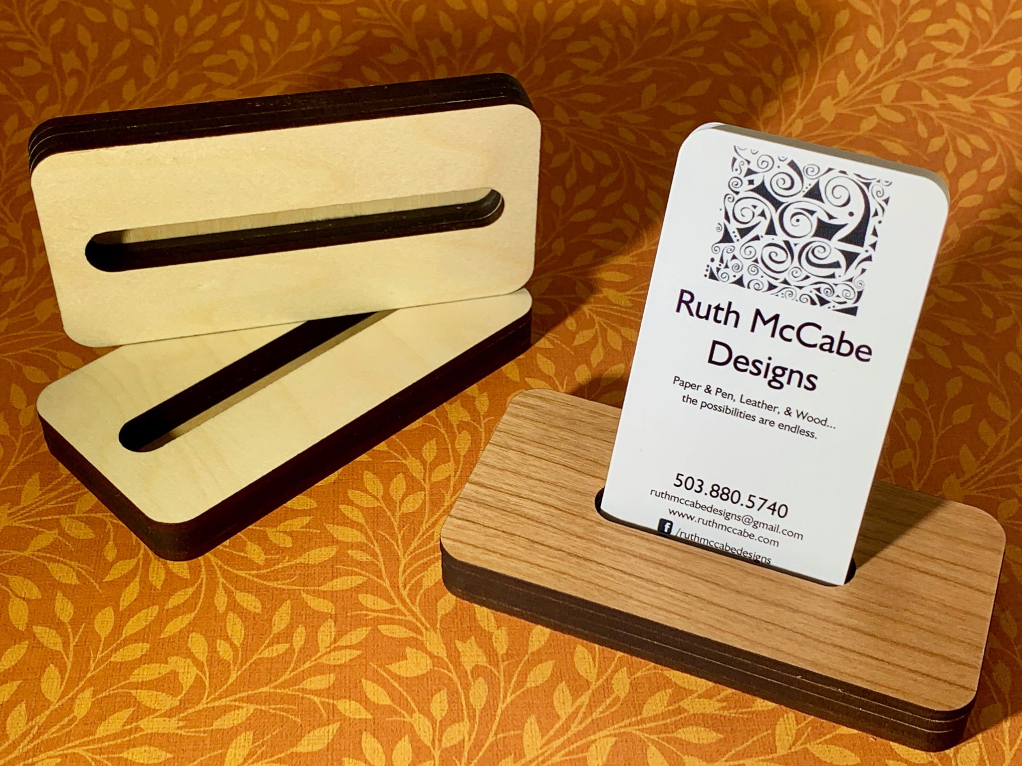 Business Card Holder Ruth Mccabe Design