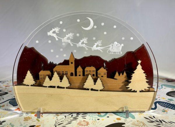 snow globe holiday hostess gift